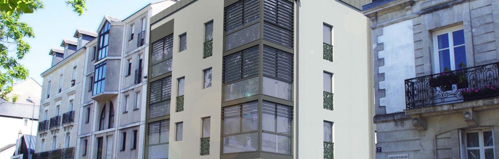 bureaux neufs louer nantes centre les etamines duret promoteur. Black Bedroom Furniture Sets. Home Design Ideas