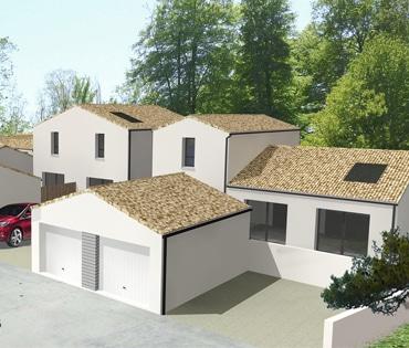 Maison neuve challans 85300 le domaine du bois soleil for Promoteur maison bois