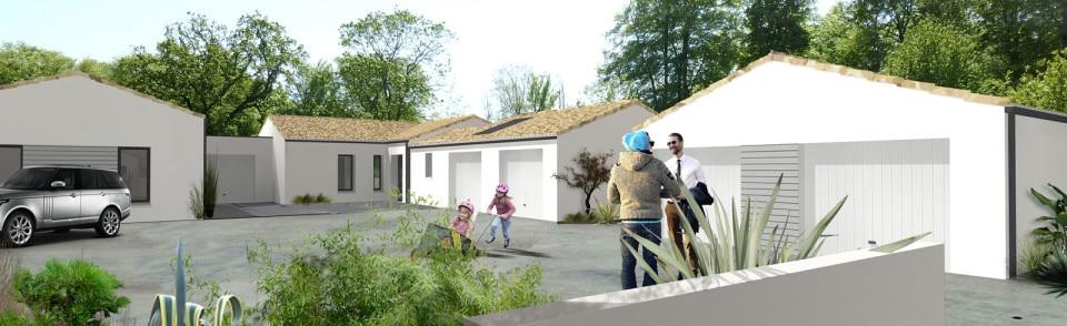 Maison neuve challans 85300 le domaine du bois soleil for Promoteur maison neuve