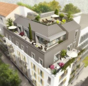 P067 Résidence Le Haras_Visuel résidence_Vue Terrasse (ID 74851)