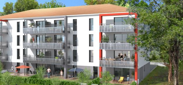 appartement neuf challans t3 loi pinel ou meubl domaine du bois soleil duret promoteur. Black Bedroom Furniture Sets. Home Design Ideas